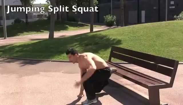 squat, jumping split squat GIFs