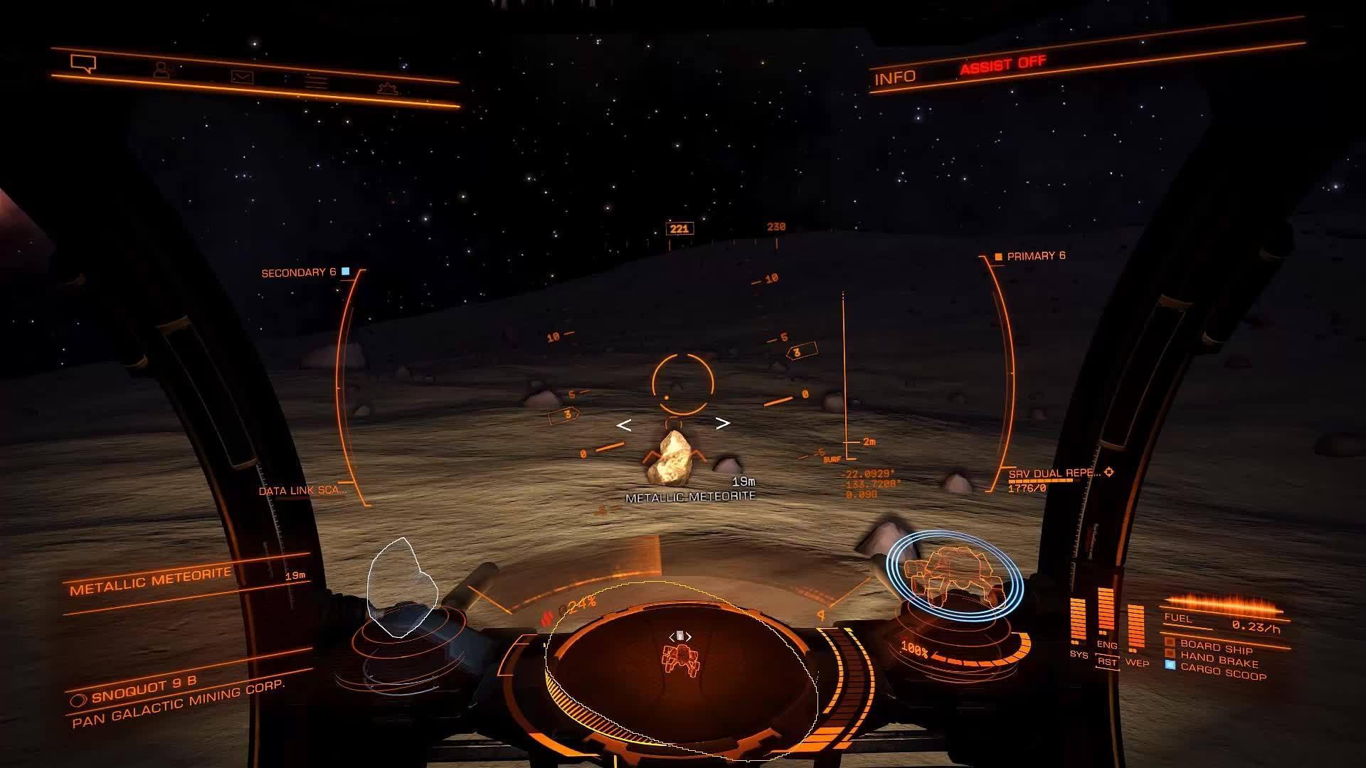 Mining new materials (elite dangerous)