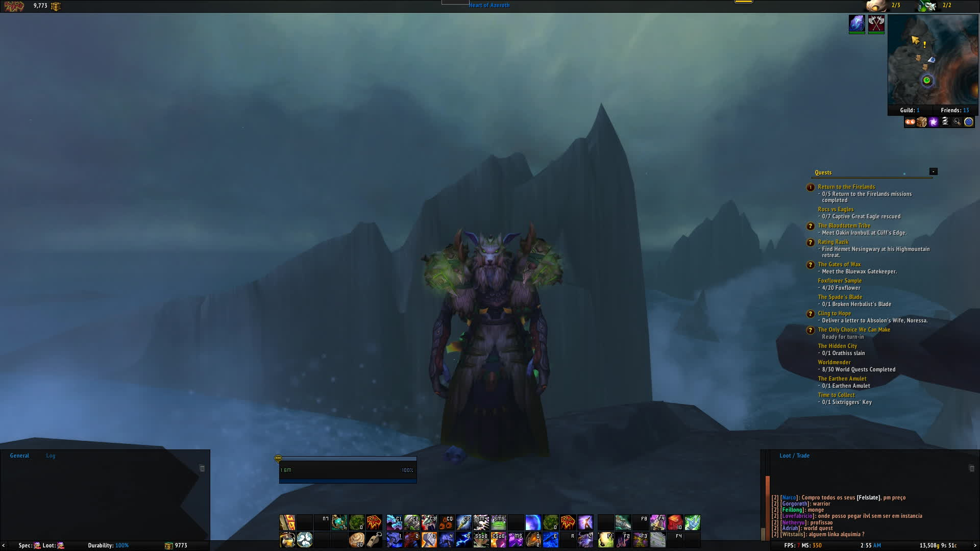 transmog, transmogrification, wow, Green shamman GIFs