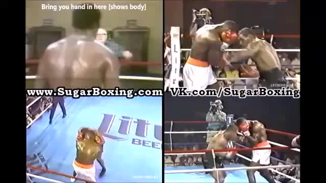 Watch Mike Tyson Combo in Peekaboo 004a: right hook to the body - right uppercut to the head GIF by sugarboxing on Gfycat. Discover more SugarBoxing GIFs on Gfycat