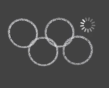 sochi olympic rings gif parody