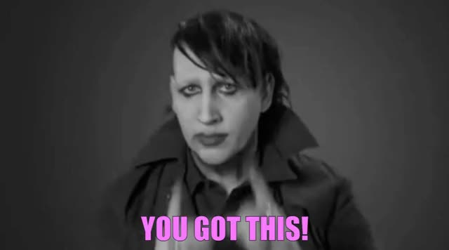 Watch this trending GIF by The GIF Forge (@leahstark) on Gfycat. Discover more inspiration, marilyn manson, you got this GIFs on Gfycat