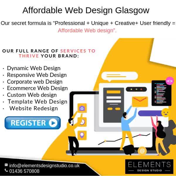 Watch and share Web Design Company Glasgow|Affordable Web Design Glasgow|Website Design Glasgow GIFs by Elementsdesignstudio on Gfycat
