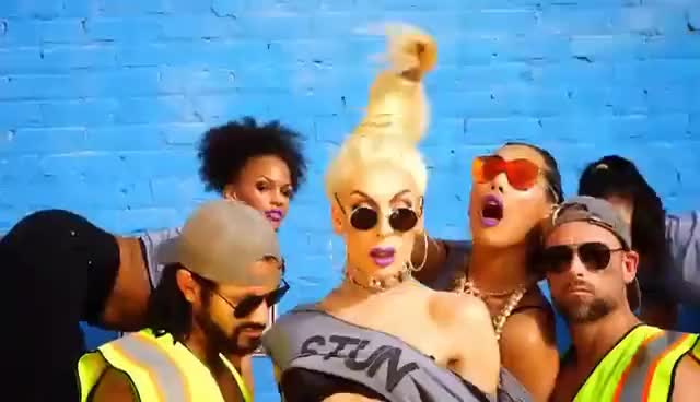 Watch Alaska Thunderfuck - STUN [Official] ft. Gia Gunn GIF on Gfycat. Discover more related GIFs on Gfycat