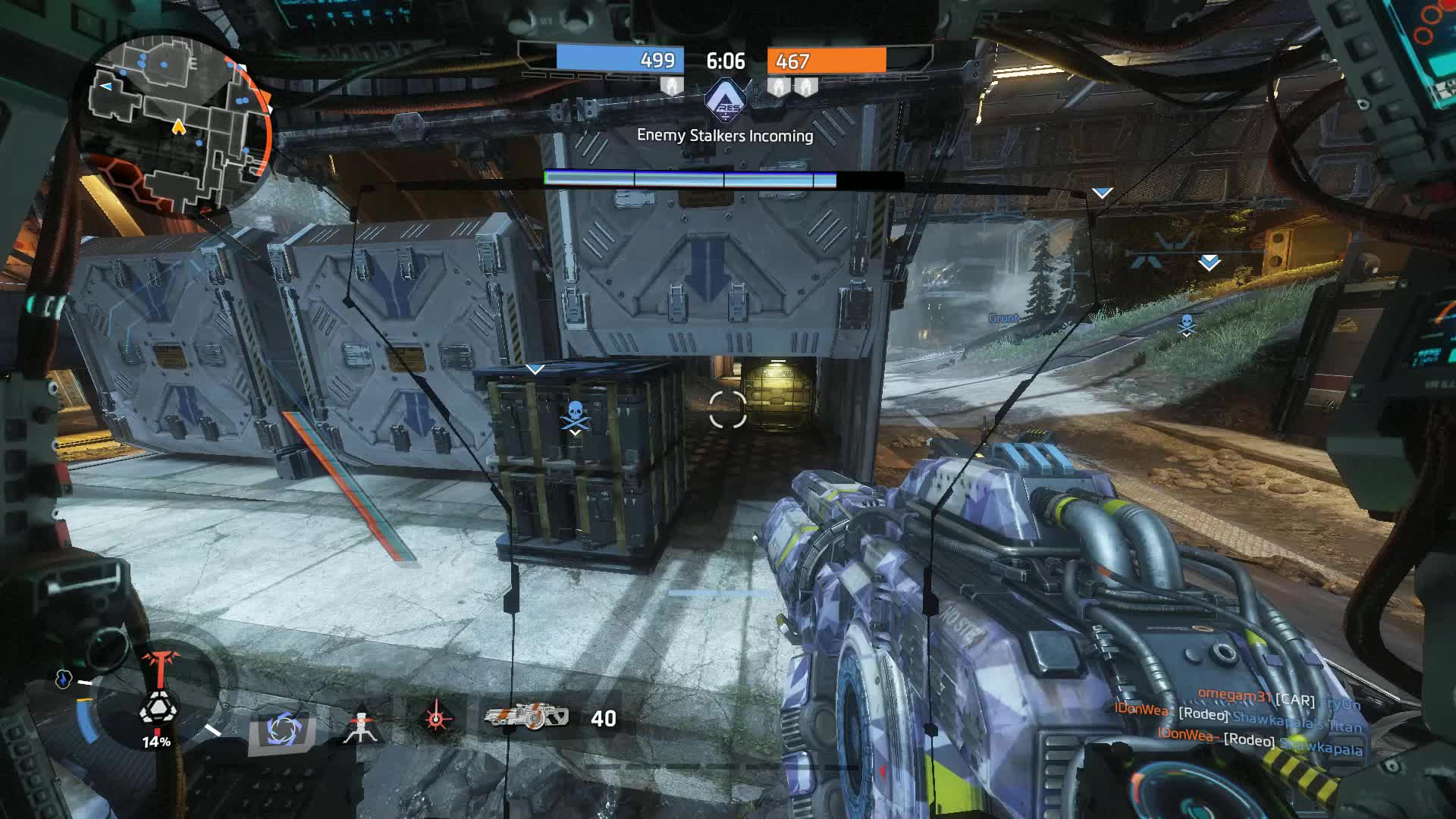 Titanfall zaglavio pri dohvaćanju popisa utakmica