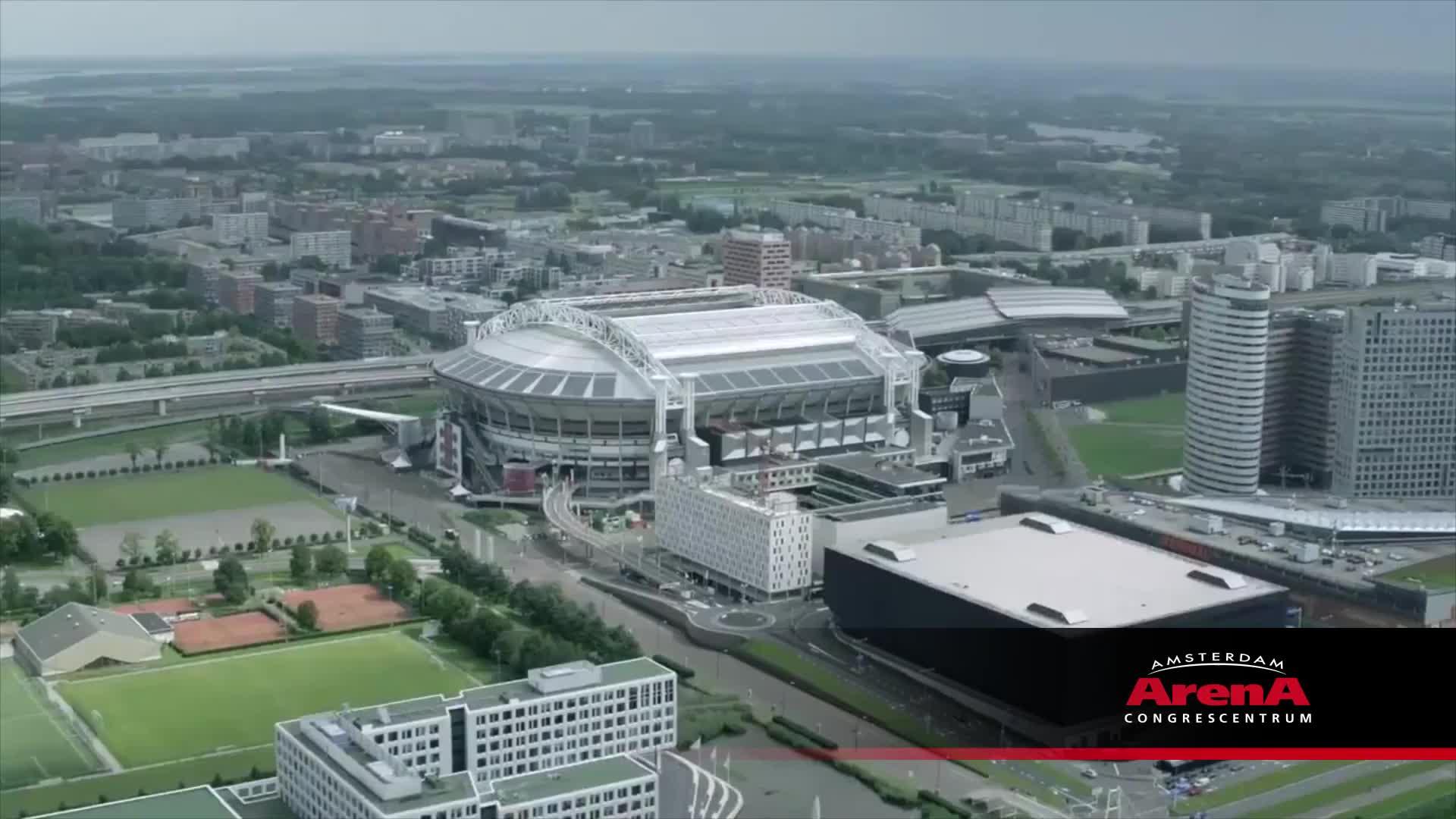 amsterdam, amsterdam arena, business events, congres, vergaderen, Showreel Amsterdam ArenA Congrescentrum GIFs