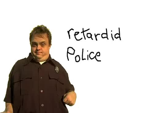 Watch and share Policeman GIFs and Retarded GIFs on Gfycat