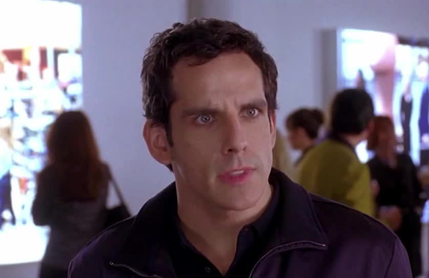 Ben Stiller, ben, eye, roll, stiller, think, wait, wonder, Eye roll GIFs