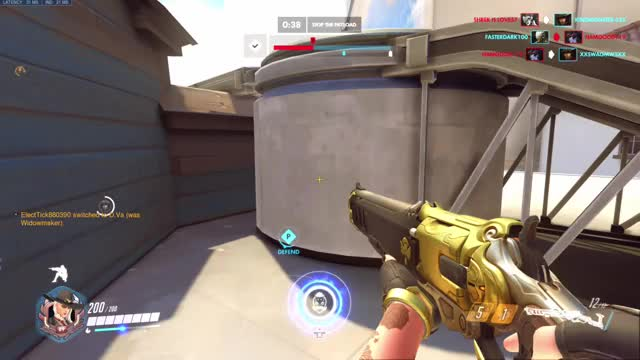 Watch Hollywood AFK GIF by Lylah (@lylights) on Gfycat. Discover more Console, Overwatch GIFs on Gfycat