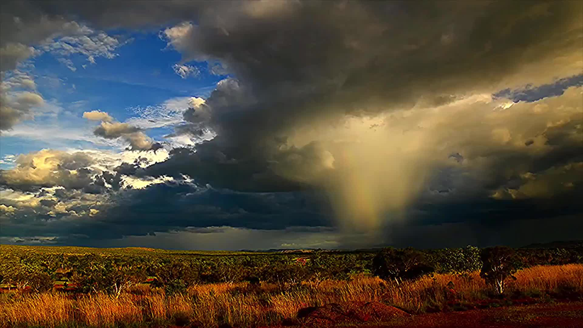 nature, Kimberley skies putting on a Monsoon show Western Australia GIFs