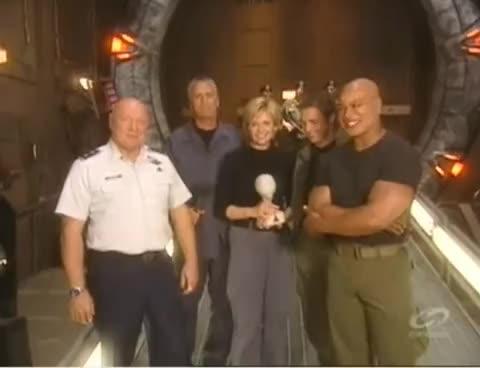 Stargate SG-1 - 10 Years of Stargate GIFs
