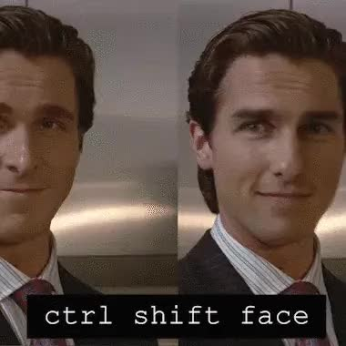 Watch and share Christian Bale GIFs and Tom Cruise GIFs on Gfycat
