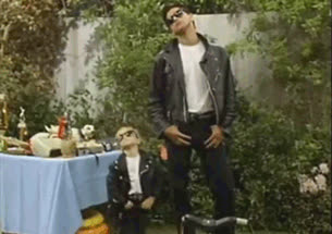 cool, deal with it, john stamos, leather jacket, mary katy and ashley olsen, michelle tanner, sunglasses, uncle jessie, Michelle and Uncle Jessie GIFs