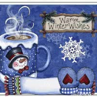 Watch Winter Warm Wishes Snowman GIF on Gfycat. Discover more related GIFs on Gfycat
