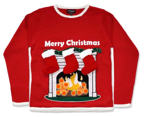 Watch and share Ugly Christmas Sweater GIFs on Gfycat