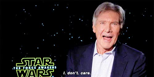 Watch this don't care GIF on Gfycat. Discover more don't care, harrison ford, i don't care, idc GIFs on Gfycat