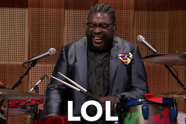Watch and share Questlove GIFs by Reactions on Gfycat