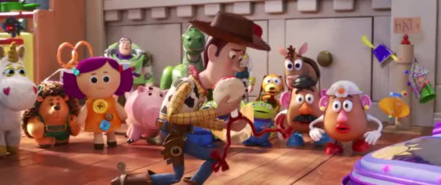 Watch Toy Story 4 | Official Trailer GIF by Rocco Supreme (@roccosupreme) on Gfycat. Discover more Animation, Buzz, Buzz Lightyear, Disney, Disney Pixar, Pixar, Pixar Movie, Toy Story, Toy Story 4, Woody GIFs on Gfycat