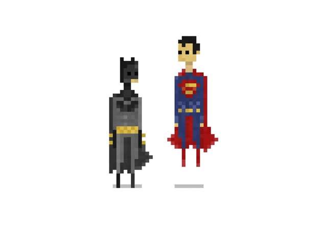 Watch and share Batman V Superman Pixel Art GIFs on Gfycat