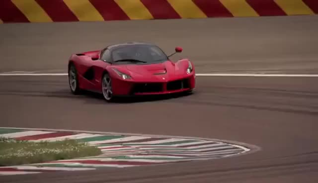 Watch La Ferrari drift slow motion GIF on Gfycat. Discover more related GIFs on Gfycat