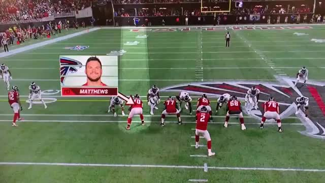 Watch and share  Jake Matthews Obliterates Avante Maddox On The Play That Julio Scores The TD GIFs on Gfycat