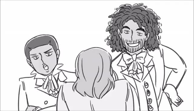Watch and share Cabinet Battle #1 | Hamilton Animatic GIFs on Gfycat