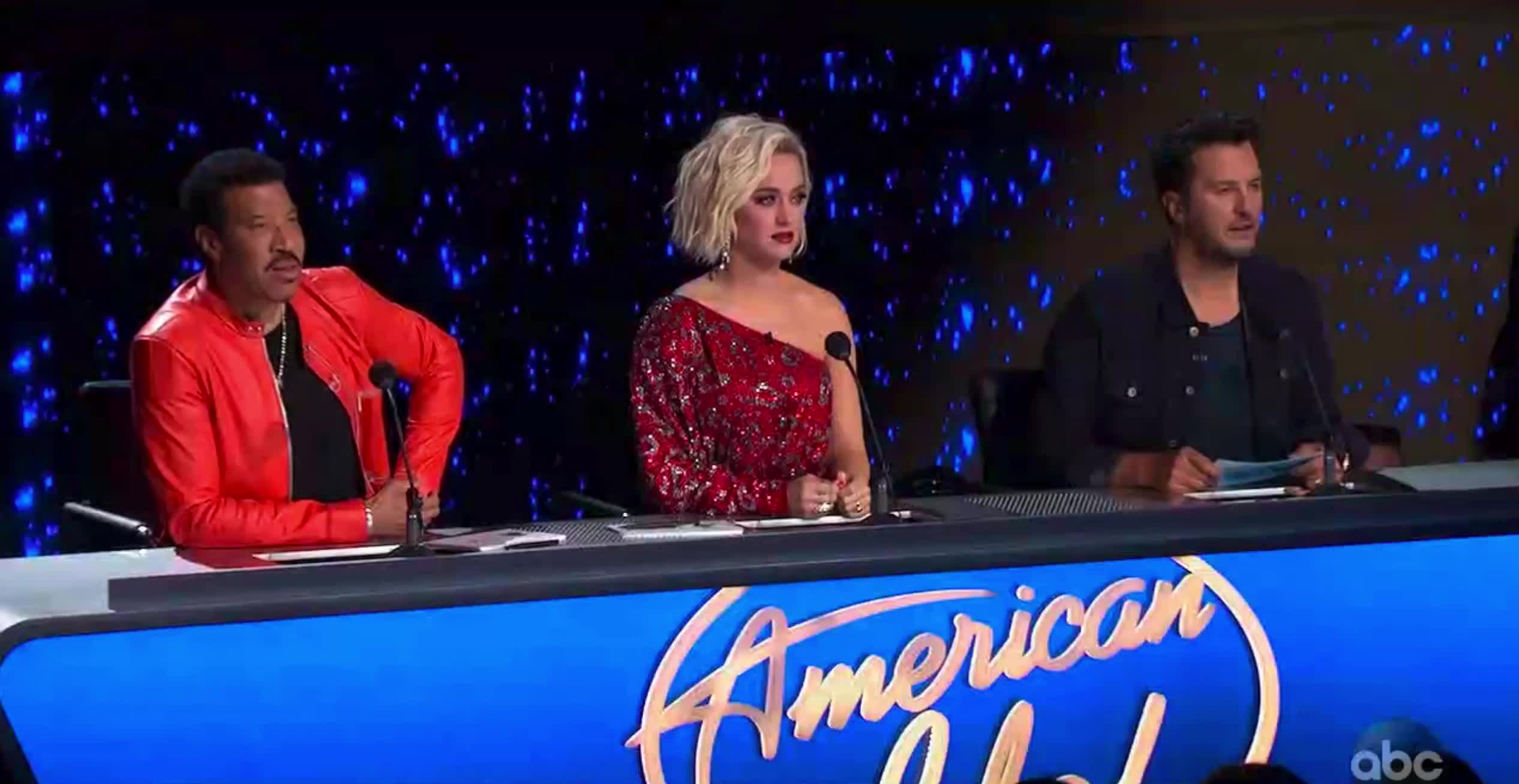 american idol, american idol season 17, americanidol, judges, katy perry, lionel richie, luke bryan, ryan seacrest, season 17, yeah, yes, American Idol Judges Nodding Yes GIFs