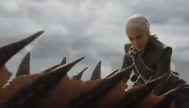 Watch and share Game Of Thrones | S07E04 - Dracarys GIFs on Gfycat