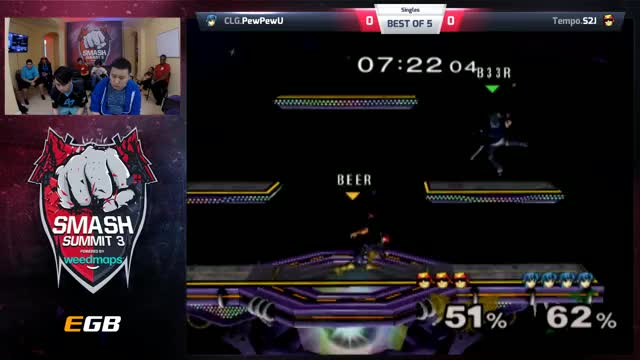 Smash Summit 3 - Day 3 - S2J vs. PewPewU