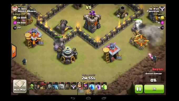 ClashOfClans, clashofclans, [Strategy]Little Bomb Placement (reddit) GIFs