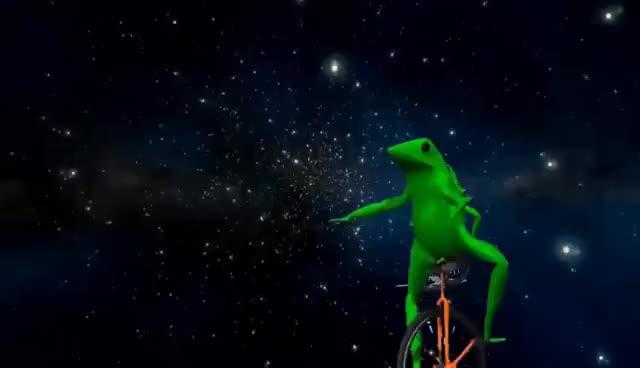 dat boi, meme, memes, Dat Boi - shooting stars GIFs