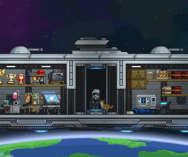 space, starbound, terraform, Starbound - Terraforming GIFs