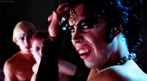 Watch and share Frank N Furter GIFs and Tim Curry GIFs on Gfycat