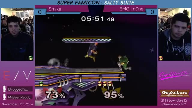 Watch Super Famicon : Salty Suite - $mike vs EMG | n0ne GIF on Gfycat. Discover more related GIFs on Gfycat