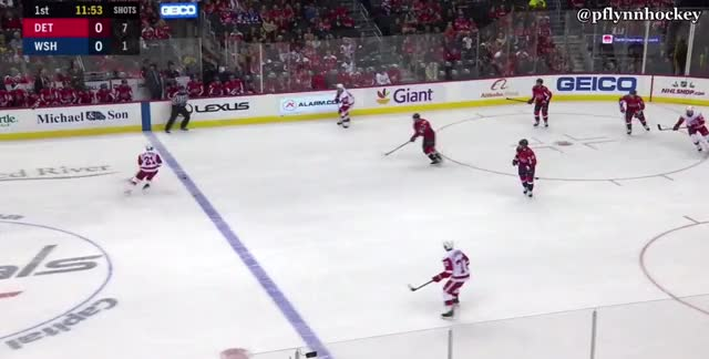 Watch and share Washington Capitals GIFs and Detroit Red Wings GIFs by peterwiim on Gfycat