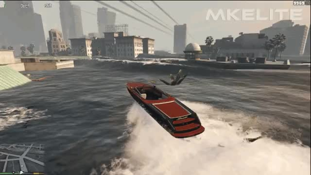 Watch and share Gta Speedboat animated stickers on Gfycat