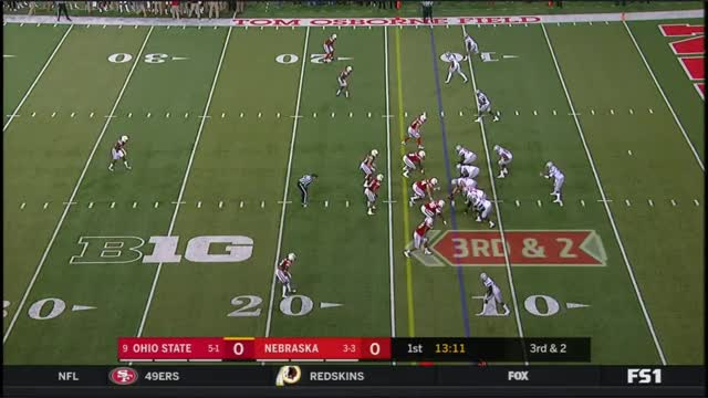 Watch and share 2017 - Ohio State Buckeyes At Nebraska Cornhuskers In 40 Minutes GIFs by bscaff on Gfycat