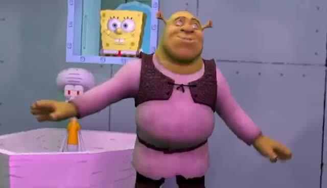 BAD, 👎, Creepy Shrek SFM GIFs