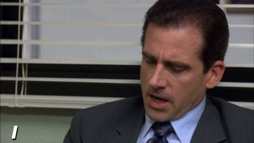 expressions, michael scott, sayings, steve carell, the office,  GIFs