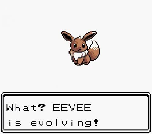 Watch and share Eevee Digivolve To LEAFEON GIFs on Gfycat