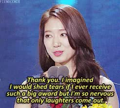 Watch aAs sweet as the darling couplea GIF on Gfycat. Discover more 2014 SBS Drama Awards, Top Exellence Actress Award, award shows, kdrama, park shin hye, pienocchio gifs, pinocchio GIFs on Gfycat