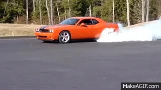 Watch and share Dodge Challenger Burnout GIFs on Gfycat