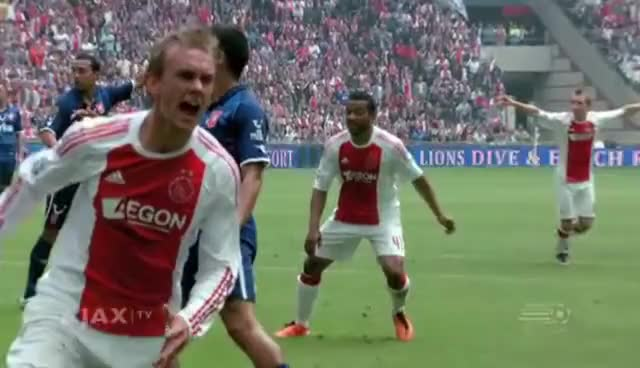 Watch and share Siem De Jong GIFs and Kampioen GIFs on Gfycat