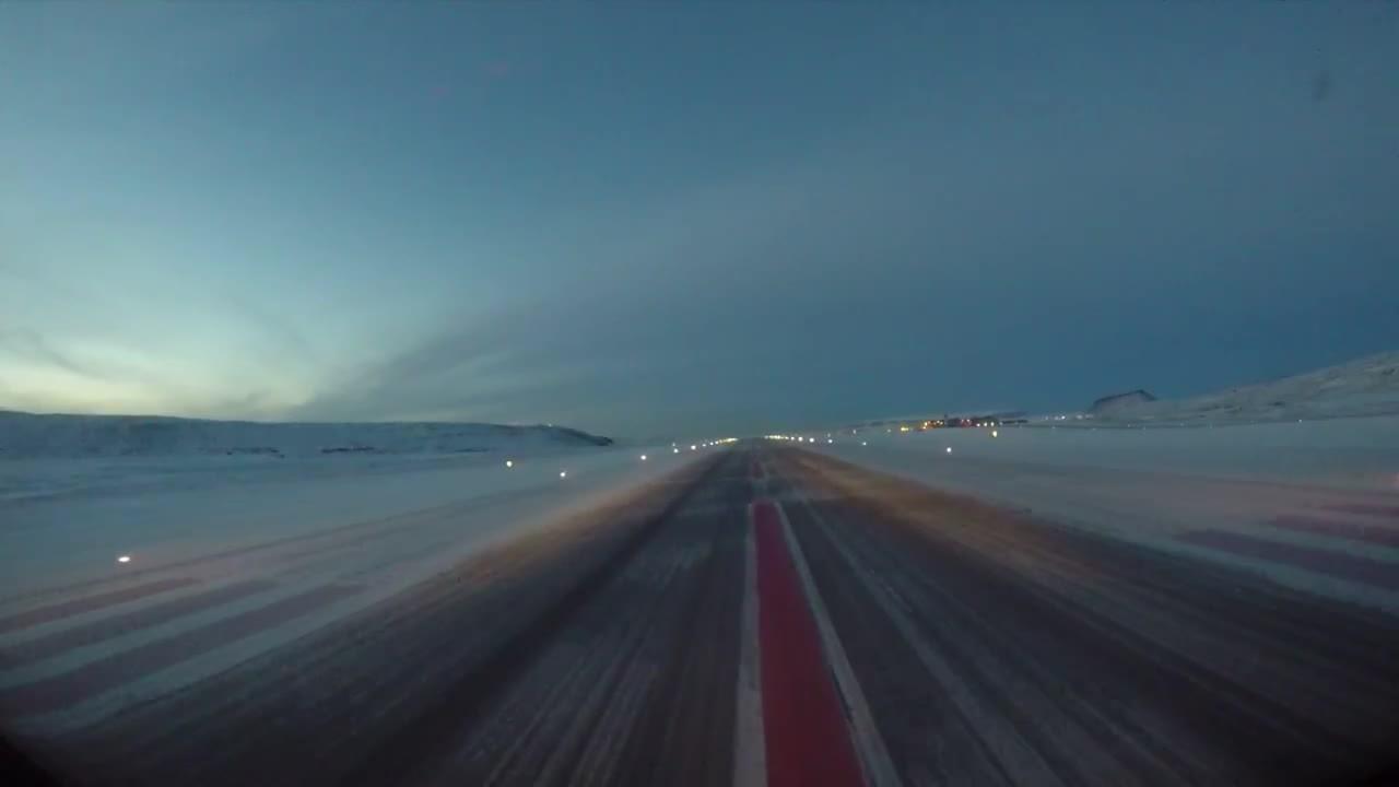 WarplaneGfys, warplanegfys, Takeoff from Thule Air Base, Greenland (reddit) GIFs