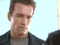 Watch and share Arnold Schwarzenegger, Smile, Angry, Not Amused, Wtf GIFs on Gfycat
