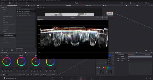 Watch and share Sony A7sii Higher IRE Exposure Resolve Slog3 Waveform Resolve GIFs on Gfycat