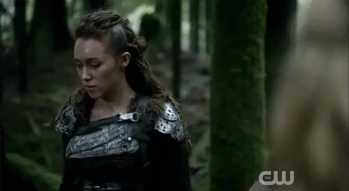 Watch this trending GIF on Gfycat. Discover more 02x10, alycia debnam carey, clarke, clarke x lexa, clexa, clexa gifs, commander lexa, eliza taylor, lexa, my gif, season 2, survival of the fittest, the 100, the 100 gifs, 😍 GIFs on Gfycat