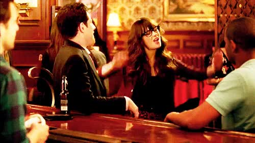 Watch and share Zooey Deschanel GIFs and Raise The Roof GIFs on Gfycat