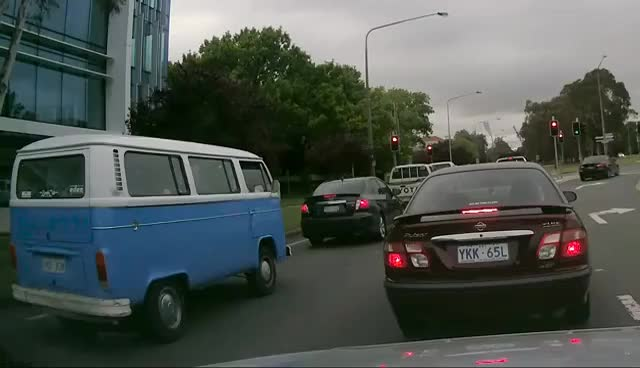 Watch and share VW Kombi Van Explosion In Canberra GIFs on Gfycat