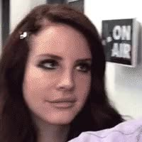 Watch and share Lana Del Ray GIFs and Eye Roll GIFs by Reactions on Gfycat